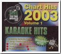 CHART HITS 2003 Vol. 1 Karaoke Hits 3 CDGs Disc Pack