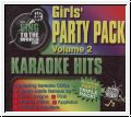 GIRL'S PARTY PACK VOL. 2 Disc pack 3 CDGs